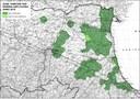 Mappa zone tampone Erwinia amylovora