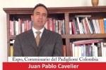 Saluto di Juan Pablo Cavelier, Colombia