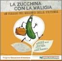 Libro zucchina con la valigia