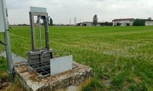 L'irrigazione per scorrimento diventa intelligente sui prati stabili polifita della Val d'Enza