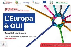 L'Europa è QUI, nuovo concorso per i beneficiari dei Fondi europei